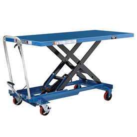 Oversized Deck Mobile Scissor Lift Tables