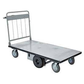 Vestil Mid-Axle Drive Motorized Electric Platform Cart