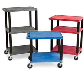 Luxor Tuffy Garage & Shop Utility Carts