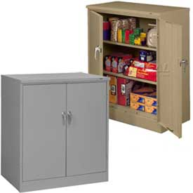 Counter Height Solid Door Cabinets