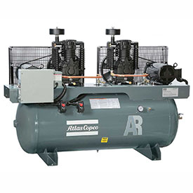 Duplex Air Compressors - 3 Phase