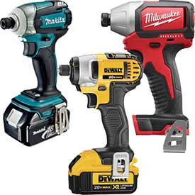Cordless Impact Wrenches & Drivers