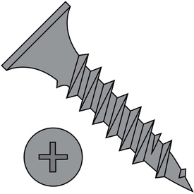 Phillips Bugle Head Drywall Screws