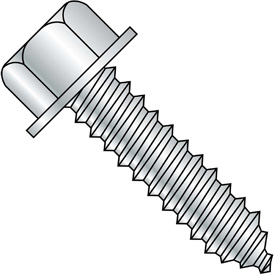 Unslotted Indented Hex Washer Lag Screws