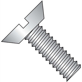 Slotted Flat Undercut Head Machine Screws