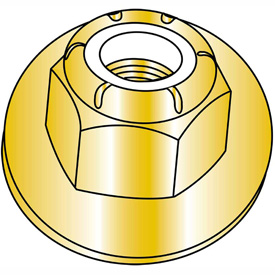 Nylon Insert Flange Hex Lock Nut