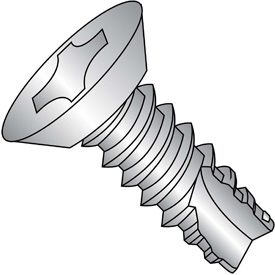 Phillips Flat Undercut Head Thread Cutting Screws Type 25 Thread