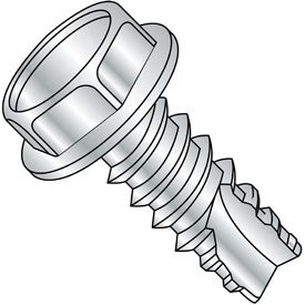 Unslotted Indented Hex Washer Thread Cutting Screws Type 25 Thread