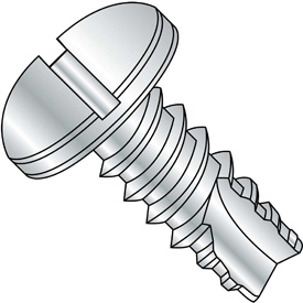 Slotted Pan Head Thread Cutting Screws Type 25 Thread