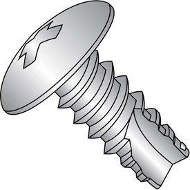 Phillips Truss Head Thread Cutting Screws Type 25 Thread