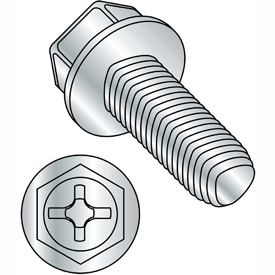 Phillips Indented Hex Washer Thread Rolling Screws