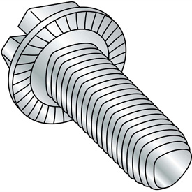 Slotted Indented Hex Washer Thread Rolling Screws