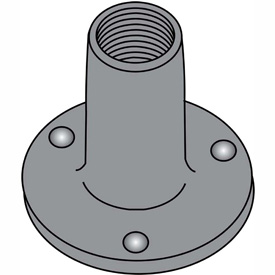 Weld Nuts with Round Base