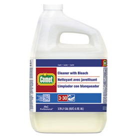 Comet Cleaner W/ Bleach, Gallon Bottle 3/Case PAG02291CT by