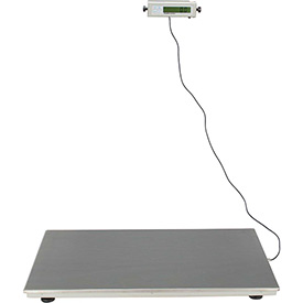 "Health O Meter 2842KL Digital Scale 600 x 0.2lb/270 x 0.1kg 22-1/4 x 42"" Plat. W/... by"