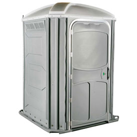 PolyJohn® Comfort Inn™ Wheel Chair Accessible Portable Restroom Lt Gray - PH03-1007