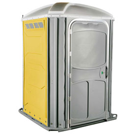 PolyJohn® Comfort Inn™ Wheel Chair Accessible Portable Restroom Yellow - PH03-1009