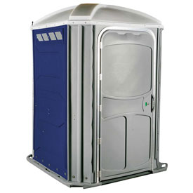 PolyJohn® Comfort Inn™ Wheel Chair Accessible Portable Restroom Dark Blue - PH03-1016