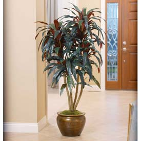 OfficeScapesDirect 4.5' Dracaena Silk Plant