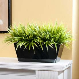 OfficeScapesDirect Bermuda Grass Filetop Silk Plant