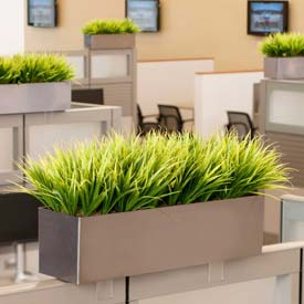 OfficeScapesDirect Grass Cubicle Silk Plant