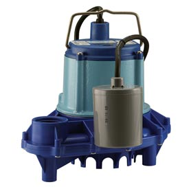 Little Giant 509221 9EN-CIA-RF Series Automatic Operation Submersible High Head Effluent Pump - 230V