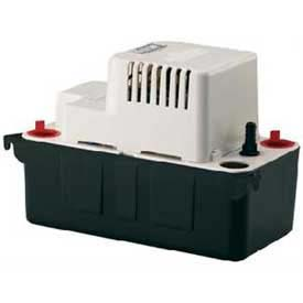 Little Giant® Condensate Removal Pump VCMA-15ULST, Automatic, 115V, 65 GPH At 1', 15' Lift