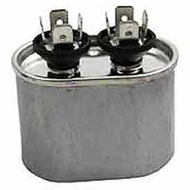 Dual Voltage 370/440 - Oval Run Capacitor - 15 Mfd
