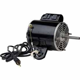 US Motors1935, Yoke Mount Welded Tab Fan, 1/3 HP, 1-Phase, 1075 RPM Motor