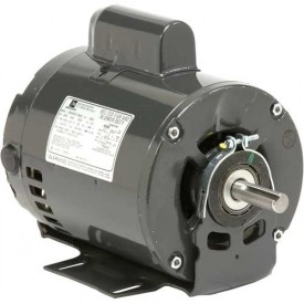 US Motors, ODP, 3/4 HP, 1-Phase, 1725 RPM Motor, 6313