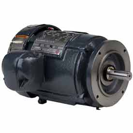 US Motors, TEFC, 5 HP, 3-Phase, 1755 RPM Motor, 8P5P2CCR