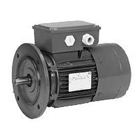 US Motors Brake, 1 HP, 3-Phase, 1740 RPM Motor, BR1S2AG3