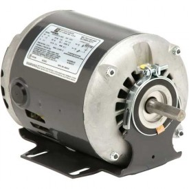 US Motors, ODP, 1/3 HP, 1-Phase, 1140 RPM Motor, D13B3P9
