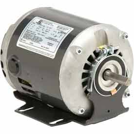 US Motors, ODP, 1/4 HP, 1-Phase, 1725 RPM Motor, D14B2N49