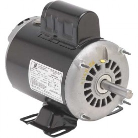 US Motors, ODP, 2 HP, 1-Phase, 3450 RPM Motor, D2C1J14
