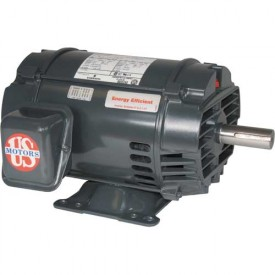 US Motors Inverter Duty, 1.5 HP, 3-Phase, 3505 RPM Motor, D32V1B