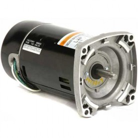 Pool & Spa, Square Flange, 1 1/2 HP, 1-Phase, 3450 RPM Motor, EUSQ1152