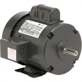 US Motors, TEFC, 1 HP, 1-Phase, 1725 RPM Motor, T1CM2J14