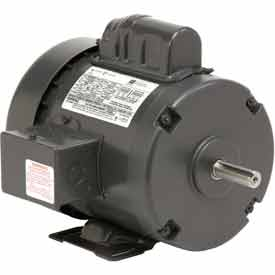 US Motors, TEFC, 3/4 HP, 1-Phase, 1725 RPM Motor, T34CM2J