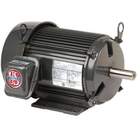 US Motors Unimount® TEFC, 1.5 HP, 3-Phase, 1175 RPM Motor, U32P3H