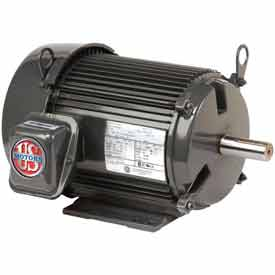 US Motors Unimount® TEFC, 3 HP, 3-Phase, 1175 RPM Motor, U3P3D