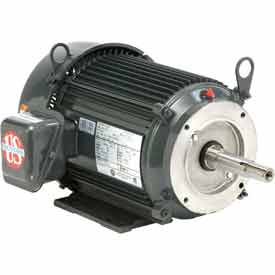 US Motors Pump, 3 HP, 3-Phase, 3490 RPM Motor, UJ3S1AP