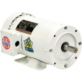 US Motors Washdown, 3 Phase, 1 HP, 3-Phase, 1725 RPM Motor, WD1S2A14C