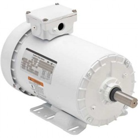 US Motors Washdown, 3 Phase, 3/4 HP, 3-Phase, 1140 RPM Motor, WD34S3A14