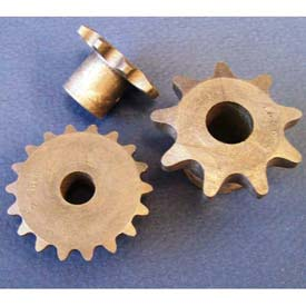 Plastock #40 Roller Chain Sprockets 40b12, Nylatron, 1/2 Pitch, 12 Tooth Roller by