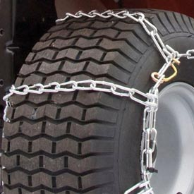 Maxtrac Snow Blower/Garden Tractor Tire Chains, 4 Link Spacing (Pair) 1062655 Package... by