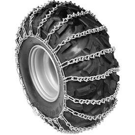 Atv V-Bar Tire Chains, 4 Link Spacing (Pair) 1064555 Package Count 2 by