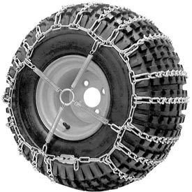 ATV V-BAR Tire Chains, 2 Link Spacing (Pair) 1064656 by