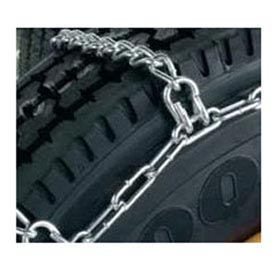 2200 Series Single Truck, Bus & Rv Hi-Way Tire Chains (Pair) 221655 Package Count 2 by