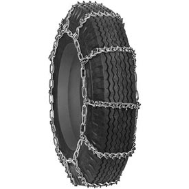 2800 Series Single Truck, Bus & RV V-BAR Tire Chains (Pair) 0282955 by Tire Chains